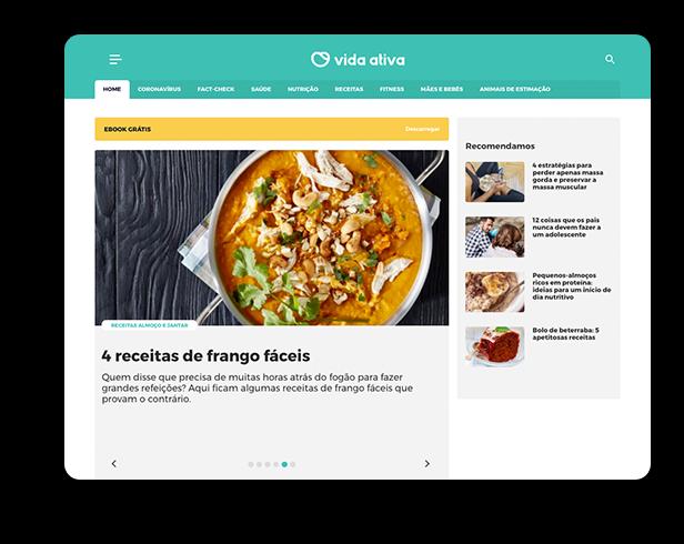 Vida Ativa - Nutrição e Treino Online