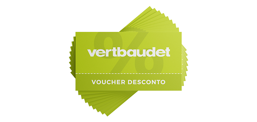 Voucher de desconto da Vertbaudet